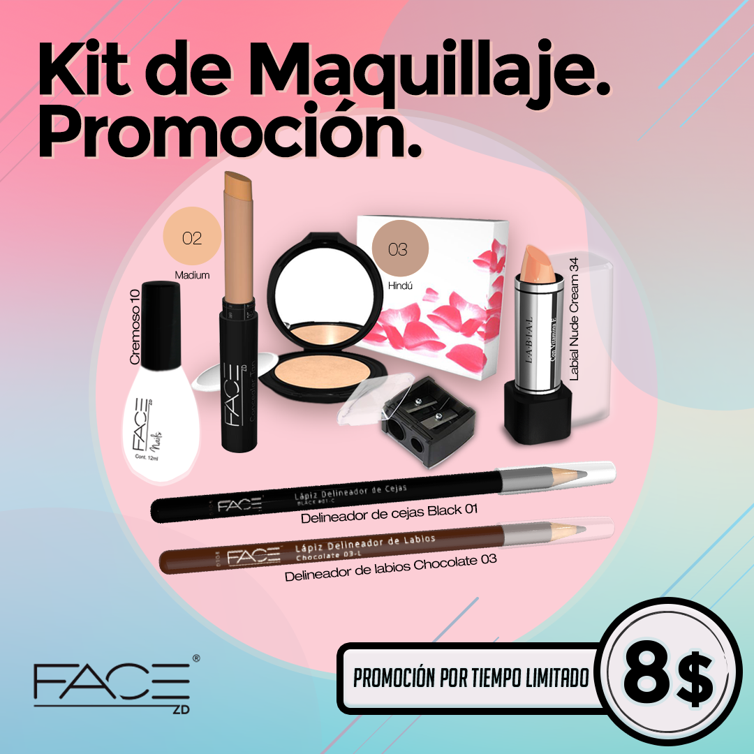 Kit de maquillaje look emprendedora